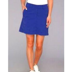 Nike Dri-Fit blue golf skirt, 4